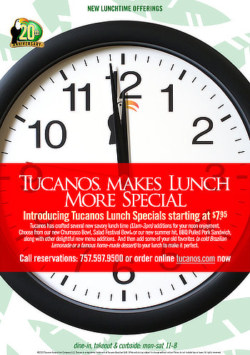 Tucanos  Lunch Special