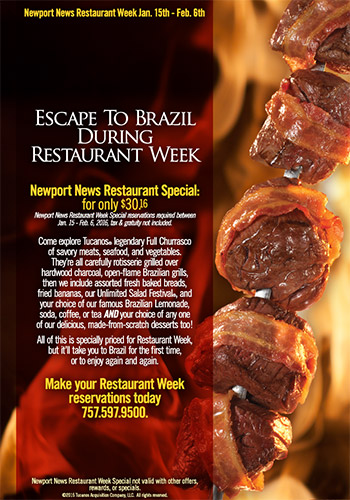 Escape to Brazil During Restaurant Week