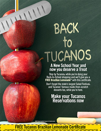 Tucanos Back to School