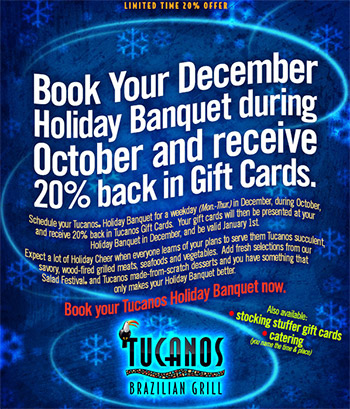 Holiday Banquet Reservations