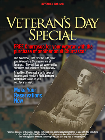 Veteran's Day Special!