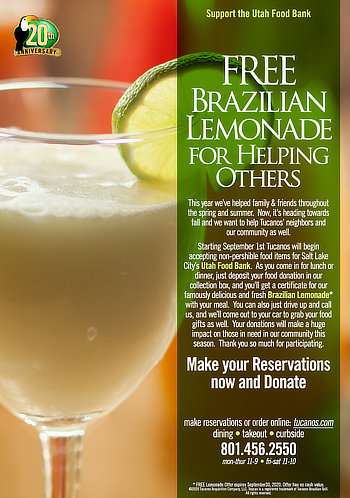 FREE Brazilian Lemonade for Helping Others