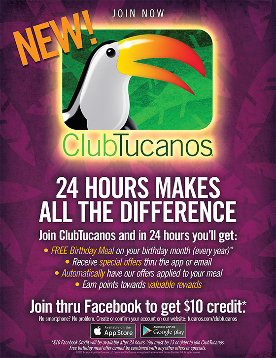 Join Our New ClubTucanos