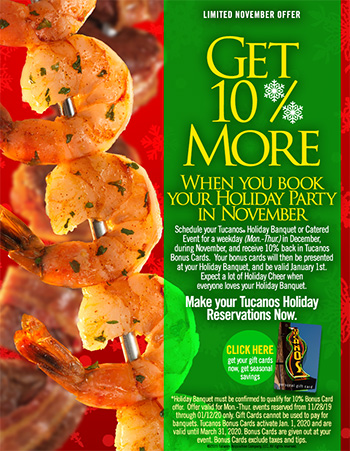 November Holiday Savings