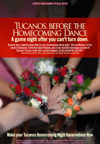 Tucanos Before the Homecoming Dance