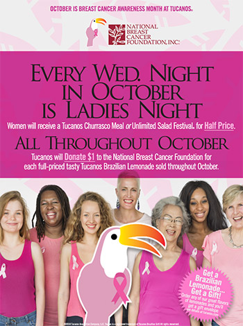 Tucanos Tucanos Ladies Night